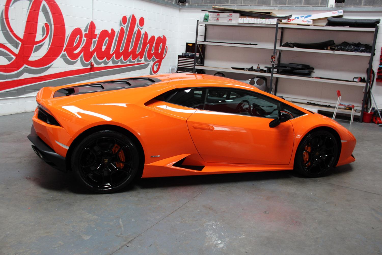 Lamborghini Huracan Gloss Orange Vinyl Wrap Tlc Detailing