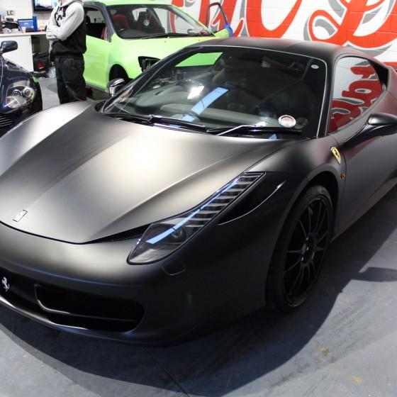 Matte Black Ferrari Price