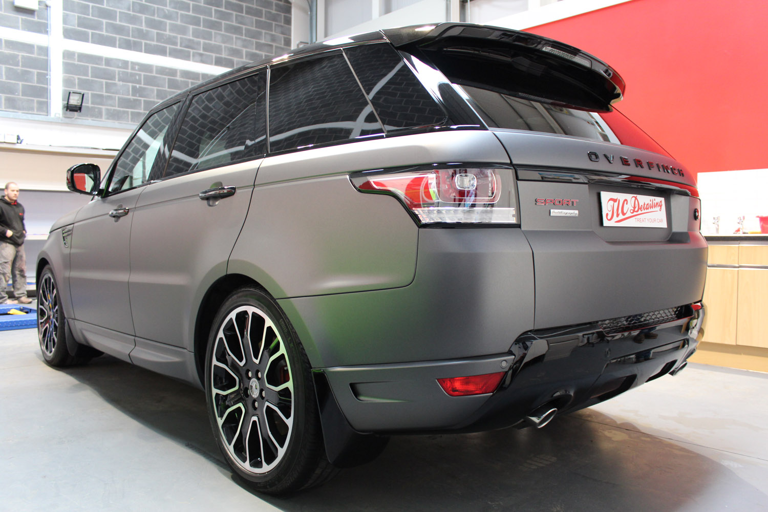 100 matte gray range rover used overfinch ranger. Black Bedroom Furniture Sets. Home Design Ideas