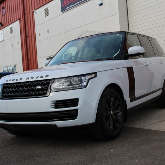 Range Rover Vogue – Partial Vinyl Wrap